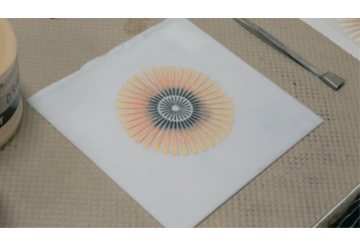 Hot Tip: Using Powders with Stencils Video