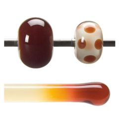 Bullseye Garnet Red Transparent, Rod, Fusible, Each