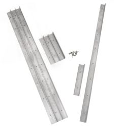 "Morton Layout Rails 12"" & 3"" Set w/ Push Pins"
