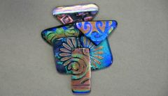 Video Tutorial - Fused Glass Jewelry: Reverse Dichroic Etching with Tanya Veit