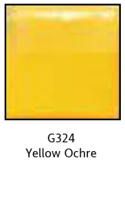 Colors For Earth Yellow Ochre Glass Paint - CFE