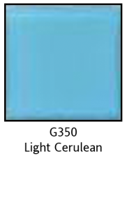 Colors For Earth Light Cerulean Glass Paint - CFE