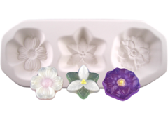 Assorted Flowers Glass Casting Mold