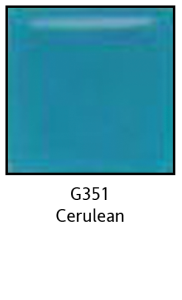Colors For Earth Cerulean Glass Glass Paint - CFE