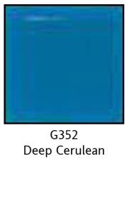 Colors For Earth Deep Cerulean Glass Paint - CFE