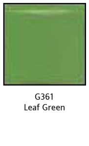 Colors For Earth Leaf Green Glass Paint - CFE