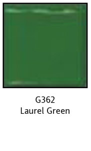 Colors For Earth Laurel Green Glass Paint - CFE
