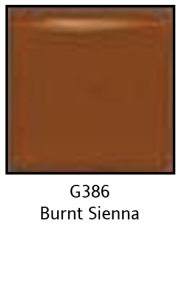Colors For Earth Burnt Sienna Glass Paint - CFE