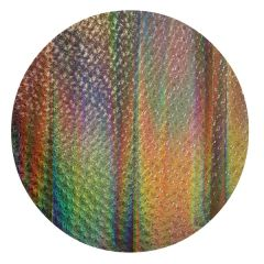 Sunset Blend Florentine Texture Wafer Thin Dichroic Glass .*.