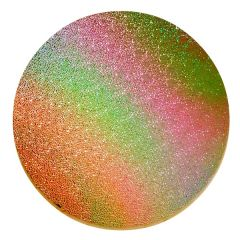 Mixture Dew Drops Texture Wafer Thin Dichroic Glass