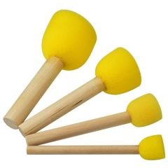 Set of Four Paint Sponges