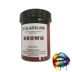 AAE Big Mouth Paints Brown  Wide Mouth Jars