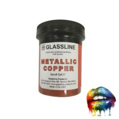 AAE Big Mouth Paints Metallic Copper Wide Mouth Jars