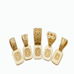 Gold Plated Variety Art Bails 5 pack