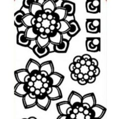 Mandalas II Etching & Sandblasting Sticker Sheet