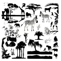 "On Safari 4"" x 4"" Fusible Decal Sheet"