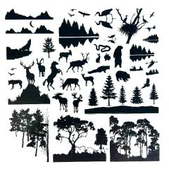 Northern States Enamel Fusible Decal Sheet