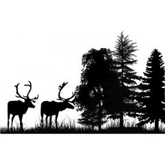 Elk Enamel Fusible Decal