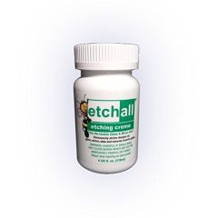 ***Pre-Order Ships August 17th *** Etchall Etching Creme 4 oz.bottle