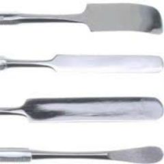 Frit Styling  4 Piece Tool Set Stainless Steel