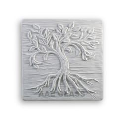 Small Tree of Life Texture Glass Fusing Mold