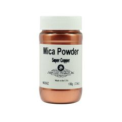 Super Copper Mica Powder 3.5 OZ. JAR (.)