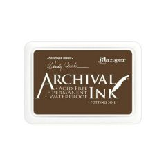 Potting Soil  Archival Waterproof Ink Pad