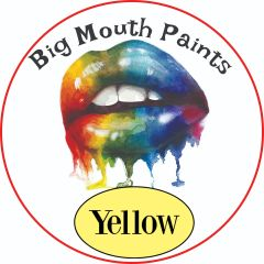 AAE Big Mouth Paints Yellow Wide Mouth Jars