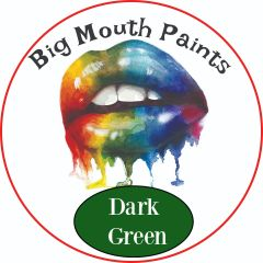 AAE Big Mouth Paints Dark Green Wide Mouth Jars