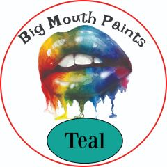 AAE Big Mouth Paints Teal Wide Mouth Jars