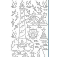 Lighthouse Etching & Sandblasting Sticker Sheet