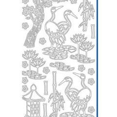 Cherry Blossom Tree Etching & Sandblasting Sticker Sheet
