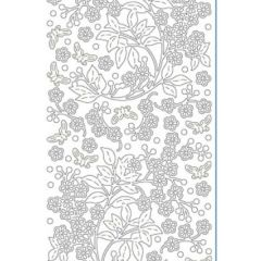 Botanical Etching & Sandblasting Sticker Sheet