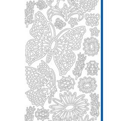 Butterfly Garden Etching & Sandblasting Sticker Sheet