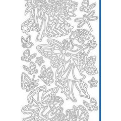 Fairy Garden Etching & Sandblasting Sticker Sheet