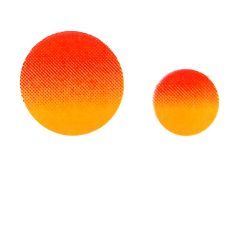 Low Fire Sun Decals.  Pack of Two.