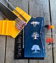 Trees Simple-Bitty Screen™  Ready-To-Use Screen Printing Stencils