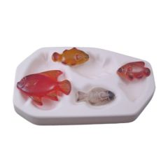 Tropical Fish Glass Casting Mold