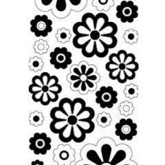 Daisies Etching & Sandblasting Sticker Sheet