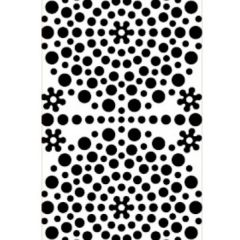 Polka Dots Etching & Sandblasting Sticker Sheet