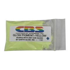CBS Dichroic Glow Pigment Powder - Yellow