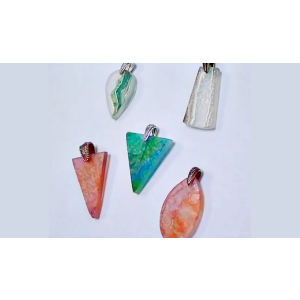 Dichroic Glass & Alcohol Ink Fused Glass Pendant Video Tutorial