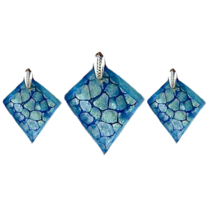 Mosaic Textured Dichroic Pendant Video Project