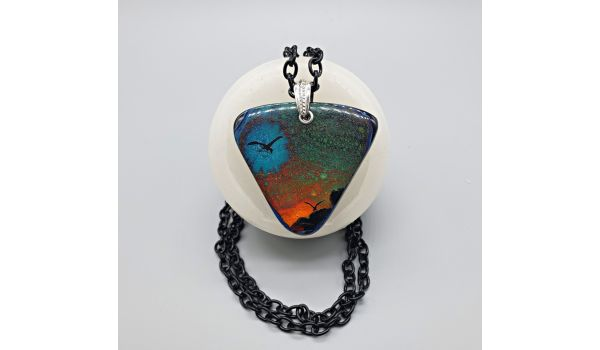 Supernova: Cosmic Creations in Glass w/ Tanya Veit Glass Fusing Video Tutorial