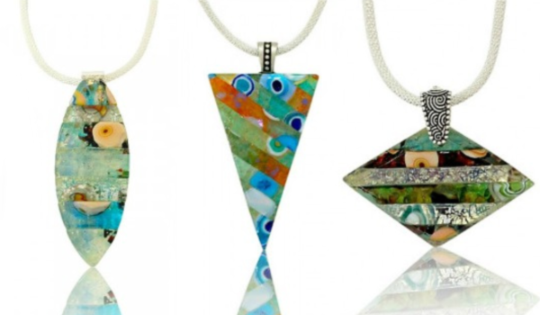 Fritrini Fused Glass Jewelry Video Tutorial w/ Tanya Veit