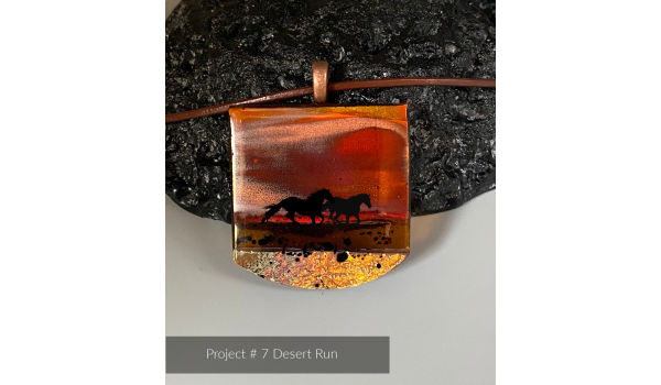 Video Tutorial: Introducing Scenic Landscapes in Fused Glass Jewelry: My Legacy with Tanya Veit