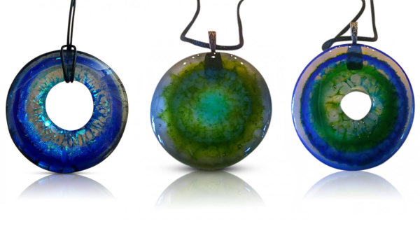 Dichro-Cakes: Concentric Circle Jewelry w/ Kate MacLeod - Online Video Tutorial - Watch Now