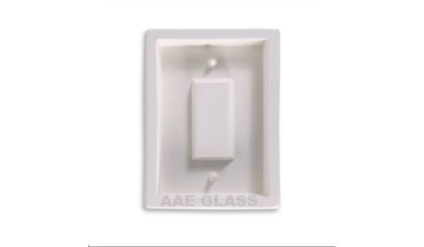 Large Rectangle Switch Plate - Contemporary Style