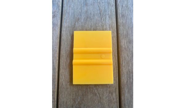 """Nylon Tiny Spot Squeegee for Screen Printing 2"""" Wide - Double Sided"""
