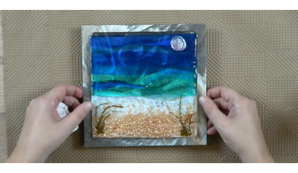 How It's Made...in 30 Minutes • Episode II: Simple Seascapes in Glass w/ Tanya Veit